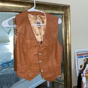 FRYE Leather Vest